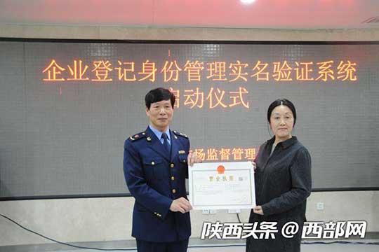 西安上线企业登记身份管理实名验证系统